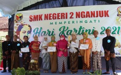 Peringatan Hari Kartini 2021 SMK Negeri 2 Nganjuk